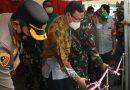 Tiga Pilar Jakarta Pusat Resmikan Posko Merah Putih Petamburan