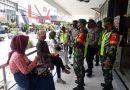 Cegah Potensi Kerumunan Pada Libur Weekend, Dandim Madiun Terjunkan Personelnya Himbau Pengunjung Mall