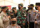 Panglima TNI Bersama Kapolri Sampaikan Pengarahan dan Tinjau Vaksinasi Prajurit TNI dan Anggota Polri di Polda Kepri