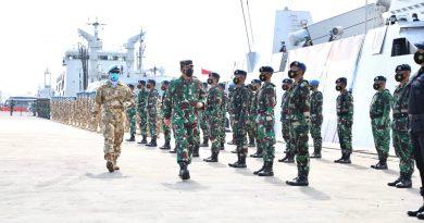 Panglima TNI: Keberangkatan Satgas MTF ke Lebanon, Bukti Kesiapan Operasional TNI Angkatan Laut yang Tinggi