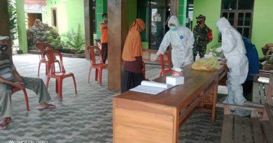 Dandim 0803/Madiun Himbau Jajarannya Aktif Dampingi Pelaksanaan Tracing Covid-19.