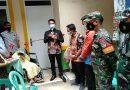 Babinsa Koramil 02 SB Dampingi Muspika Serahkan Rumah Layak Huni pada Warga Binaan