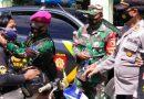 Prajurit Batalyon Kapa 2 Marinir Pasmar 2 Laksanakan Satgas Pengamanan Covid-19 di Wilayah Situbondo
