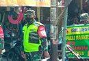Pasar Jadi Salah Satu Sasaran Ops Yustisi Pendisiplinan Prokes Anggota Koramil 04/Padas