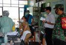 Bati Wanwil Koramil 0806/06 Gandusari Turut Dampingi Vaksinasi Sinovac Bagi Tenaga Pendidik SMPN 2 Widoro