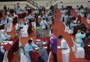 Vaksinasi Covid-19 Bagi Para Purnawirawan dan Keluarga di Mabes TNI