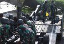 Prajurit Ksatria Perkasa Yon Kapa 2 Mar Pasmar 2  Latihan Pelayanan Meriam Dinas Baterai (PMDB)