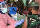 Anggota Kodim 0806/Trenggalek Ikuti Giat Vaksinasi Covid-19