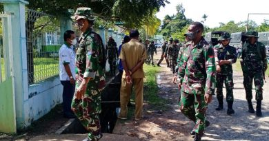 47 Personel TNI Satgas TMMD Ke-110 Tiba di Kabupaten Boven Digoel