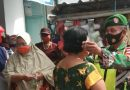 Dandim 0803/Madiun Kerahkan Personel Himbau Warga Patuhi Prokes