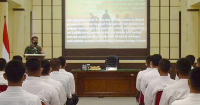 Rekruitmen Prajurit TNI Jujur, Bersih dan Transparan, Danrem 081/DSJ : Siapkan Diri Kalian Dengan Baik