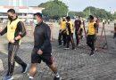 Junjung Sinergitas TNI – Polri Anggota Kodim 0501/JP BS dan Polres Metro Jakarta Pusat Olahraga Bersama