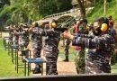 Dankormar Latihan Tembak di Cilandak