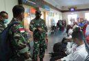 Dandim Mimika Melepas Keberangkatan 75 Orang Casis Secata Prajurit Karier ke Jayapura