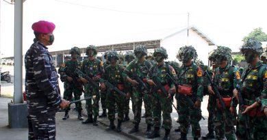 Resimen Kavaleri 2 Marinir Dukung Taruna AAL Lattek Karkatayudha