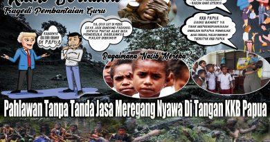 Dunia Pendidikan Berduka, KSB Pembunuh Guru di Papua