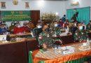 Danrem Merauke Bersama Orang Tua/Wali Casis Tamtama TNI AD Ikuti Pengarahan Kasad Secara Virtual