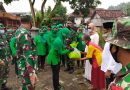 Persit Kodim Tulungagung Bantu Ringankan Beban Korban Bencana Gempa