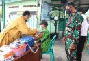 Dukung Pemerintah Cegah Penyebaran Covid 19, Kodim Ngawi Laksanakan Vaksinasi Kepada Purnawirawan Dan Warakawuri