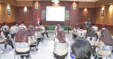 Kodim 0501/Jakarta Pusat BS Laksanakan Wasbang Siswa Siswi SMA/SMK se Jajaran
