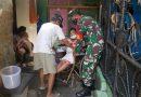 Babinsa 03/Senen Bersinergi Dengan Tiga Pilar Sukseskan Vaksinasi Lansia