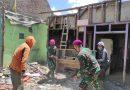 Bhakti Prajurit Yon Ranratfib 2 Mar Pasmar 2 Pasca Gempa Bumi di Wilayah Terdampak Di Probolinggo