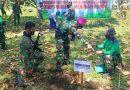 Satu Pohon Mati Akibat Alam atau Ulah Manusia Diganti 1000 Pohon Oleh Prajurit Korps Marinir TNI AL