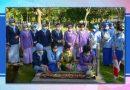 Sambut HUT ke 57 Dharma Pertiwi, Ketua Gabungan Jalasenastri Korps Marinir Ziarah dan Tabur Bunga