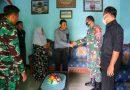 Beri Motivasi Dan Semangat Untuk Sembuh, Dandim Ngawi Bersama Pa Staf Besuk Anggota Yang Sakit