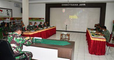 Pimpin Sidang Jabatan, Kasrem 081/DSJ : Sesuaikan dengan Kemampuan dan Keterampilan yang Dimiliki