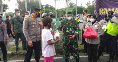Ramadhan Barokah, Kolaborasi Aksi Kepedulian Kodim 0501/JP BS dan Polres Metro Jakpus