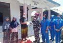Jumat Barokah Prajurit Yonmarhanlan VII Salurkan Sembako ke Panti Asuhan