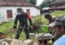 Pasca Gempa Bumi, Kodim Tulungagung Bersihkan Puing dan Bantu Rehab Rumah Warga