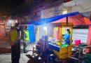 Anggota Koramil 05/Karangjati Bersama Bhabinkamtibmas Laksanakan Patroli Malam