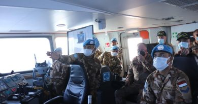 Head Of Mission Force Commander UNIFIL Apresiasi Latihan Kontingen Garuda KRI Sultan Hasanuddin 366 di Lebanon