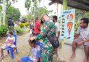 Peduli Kerapian, Satgas Pamtas Yonif 131/Brs Buka Layanan Pangkas Rambut Gratis di Papua