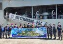 Prajurit terbaik Yonmarhanlan VII gunakan KRI Semarang 594 berangkat menuju Pulau Amfoang Timur