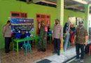 Pastikan Berjalan Aman Dan Lancar, Babinsa Posramil Pitu Pantau Pelaksanaan Vaksinasi di Wilayah Binaannya