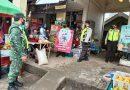 Aman Beraktivitas Saat Pandemi, Anggota Kodim 0802 Himbau Warga Untuk Tetap Disiplin Protokol Kesehatan