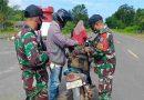 Beri Pengamanan Maksimal, Satgas Pamtas Yonif 642/Kapuas Laksanakan Sweeping di Perbatasan
