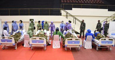 Ratusan Istri Prajurit TNI Donor Darah Sambut HUT Dharma Pertiwi ke-57