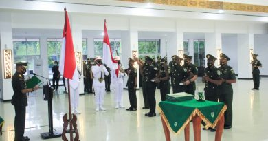Pangdam XVII/Cenderawasih Pimpin Pelantikan 594 Putra Terbaik Papua Jadi Prajurit TNI AD