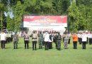 Forkopimda Kabupaten Madiun Laksanakan Apel Gelar Pasukan Operasi Ketupat Semeru 2021