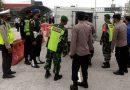 Personel Koramil 0803/02 Madiun Laksanakan Operasi Penyekatan Terkait Peraturan Larangan Mudik