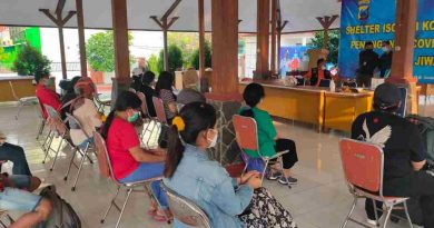 Danramil Jiwan Ingatkan PMI Patuhi Protokol Kesehatan