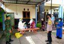 Babinsa Koramil Wungu Dampingi Pelaksanaan Tracing