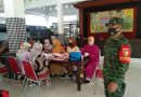 Wujudkan Balita Sehat, Babinsa Koramil 0806/06 Gandusari Dampingi Kegiatan Posyandu di Desa Binaan