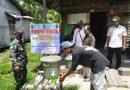 Babinsa Tebas Kawal PPKM Skala Mikro Di Wilayah Binaan