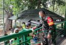 Peduli lingkungan Koramil 01/Menteng Bagikan beras kepada anggota PJLP Dinas Pertamanan dan Kehutanan