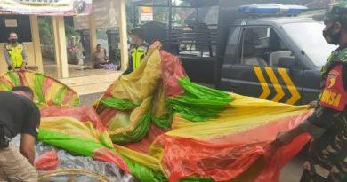 Antisipasi Penerbangan Balon Udara Pada Hari Raya Idul Fitri 1442 H, Kodim 0802/Ponorogo Gelar Patroli Bersama